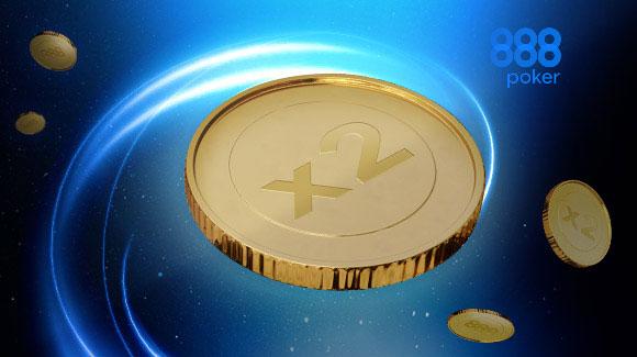 Бонус до 100% за первый депозит на 888покер